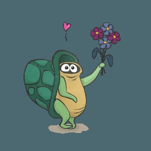 Slowy the turtle ? - Sticker 7