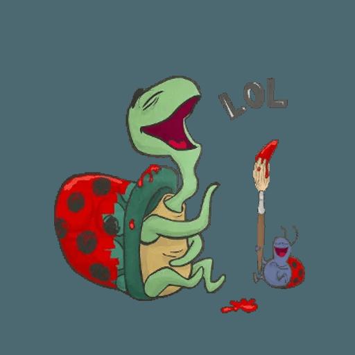 Slowy the turtle ? - Sticker 6