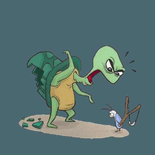 Slowy the turtle ? - Sticker 13