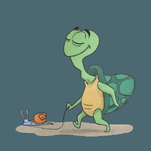 Slowy the turtle ? - Sticker 15