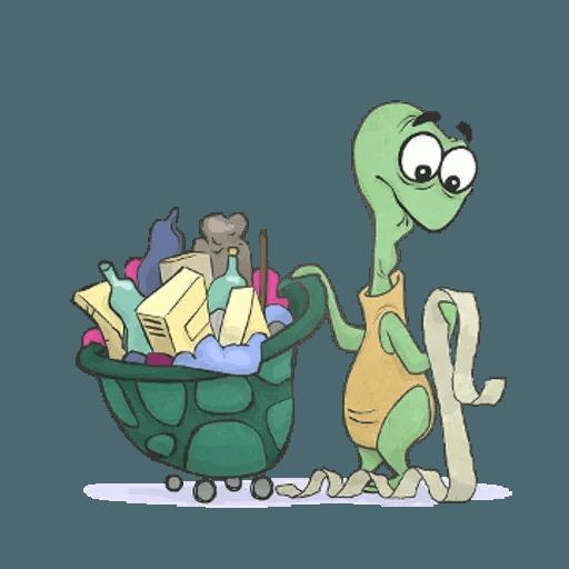 Slowy the turtle ? - Sticker 3
