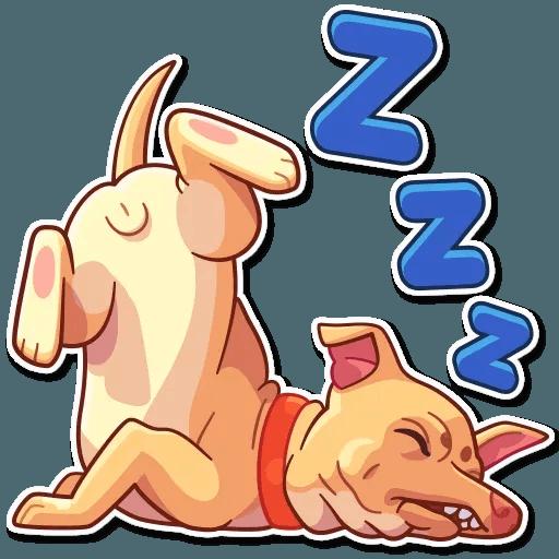 Tuna the Dog - Sticker 22