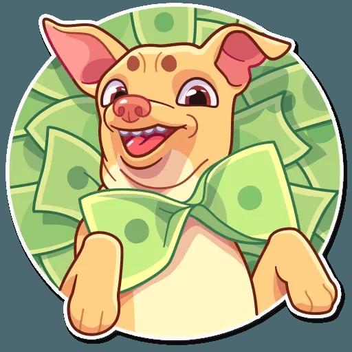 Tuna the Dog - Sticker 28