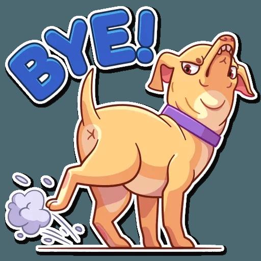 Tuna the Dog - Sticker 19
