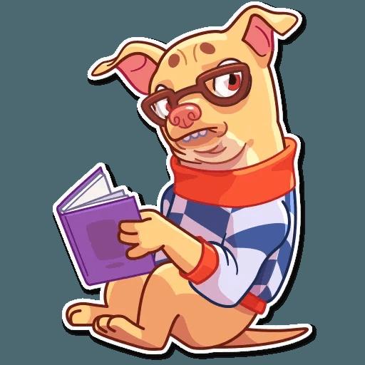 Tuna the Dog - Sticker 30