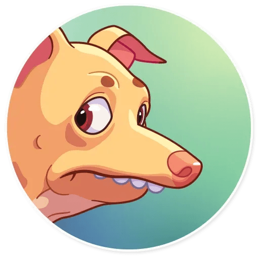 Tuna the Dog - Sticker 6
