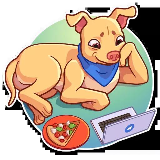 Tuna the Dog - Sticker 29