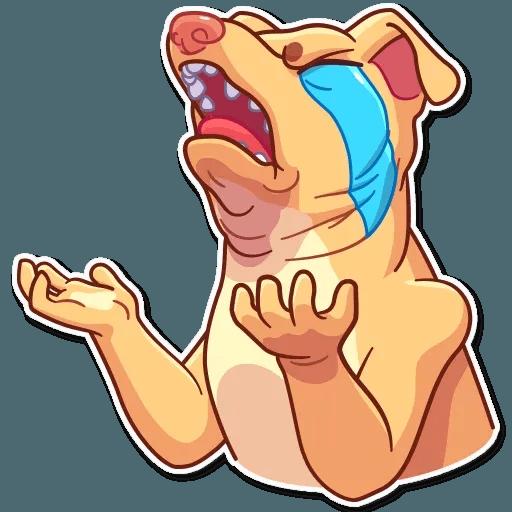 Tuna the Dog - Sticker 17