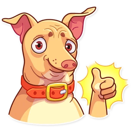 Tuna the Dog - Sticker 3