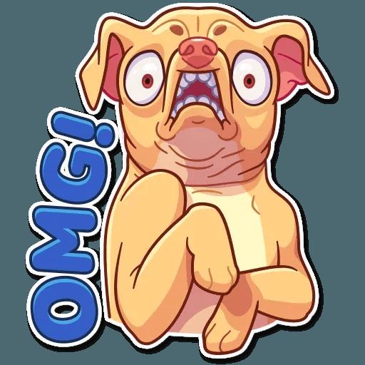 Tuna the Dog - Sticker 4
