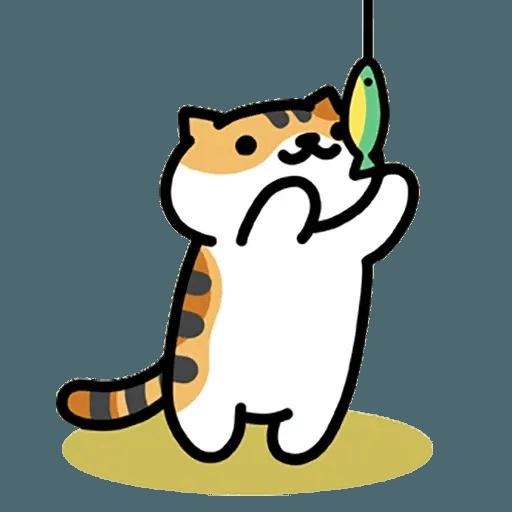 Neko Atsume - Sticker 11