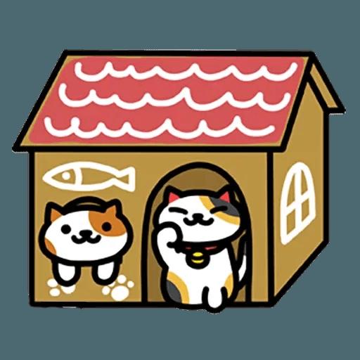Neko Atsume - Sticker 16