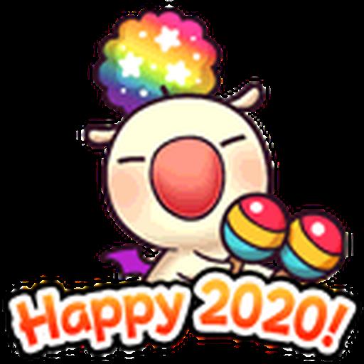 Final Fantasy Dissidia (Mog Pack) - Sticker 11