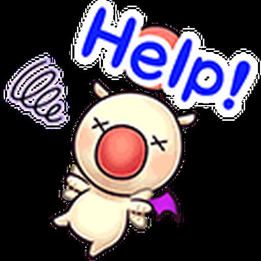 Final Fantasy Dissidia (Mog Pack) - Sticker 21