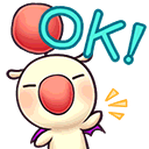 Final Fantasy Dissidia (Mog Pack) - Sticker 3