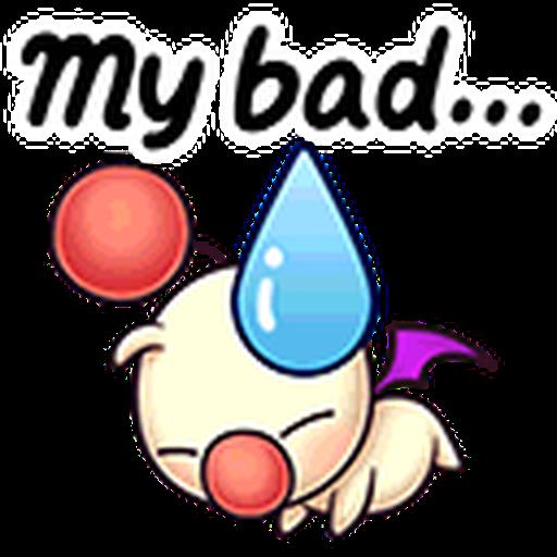Final Fantasy Dissidia (Mog Pack) - Sticker 8