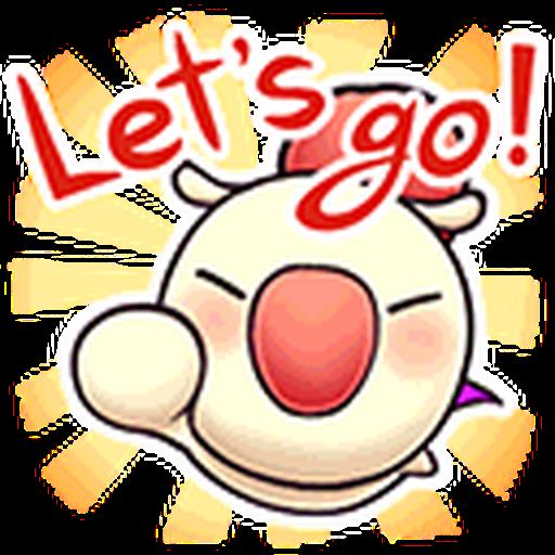 Final Fantasy Dissidia (Mog Pack) - Sticker 15