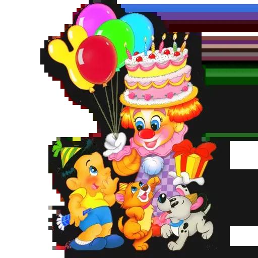 Cake Happy Birthday - Sticker 21