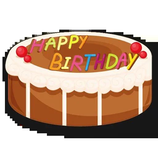 Cake Happy Birthday - Sticker 20