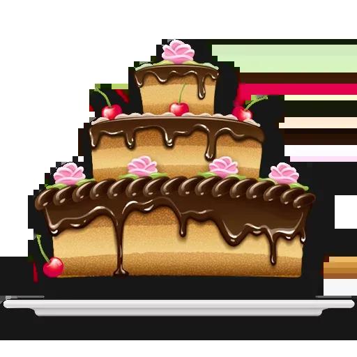 Cake Happy Birthday - Sticker 15