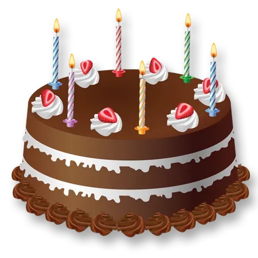 Cake Happy Birthday - Sticker 6