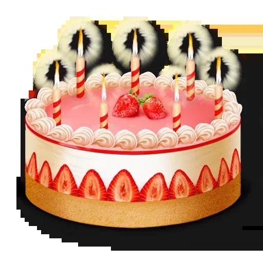 Cake Happy Birthday - Sticker 9