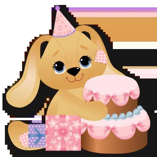 Cake Happy Birthday - Sticker 13