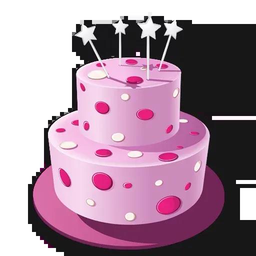 Cake Happy Birthday - Sticker 12