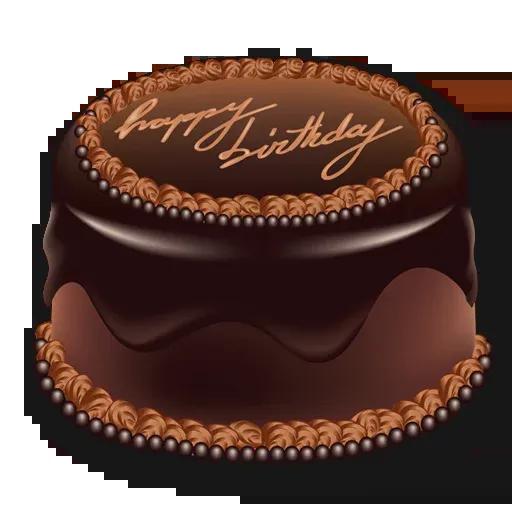Cake Happy Birthday - Sticker 8