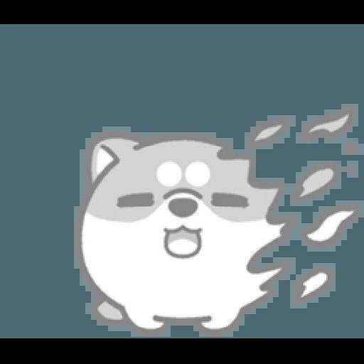 米犬日常—阿飄涼爽2 - Sticker 12