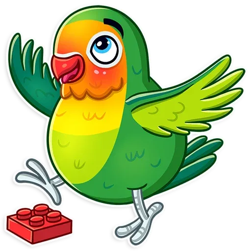 Bird - Sticker 17