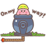 Kirby - Tray Sticker