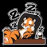 Tiger 1 - Tray Sticker
