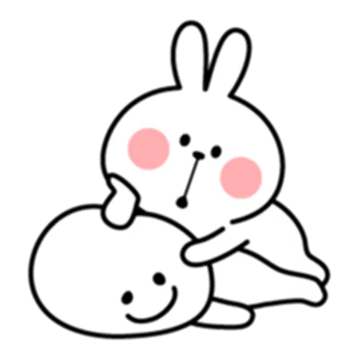Spoiled Bunny - Sticker 3