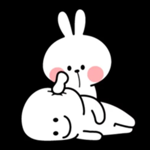 Spoiled Bunny - Sticker 4