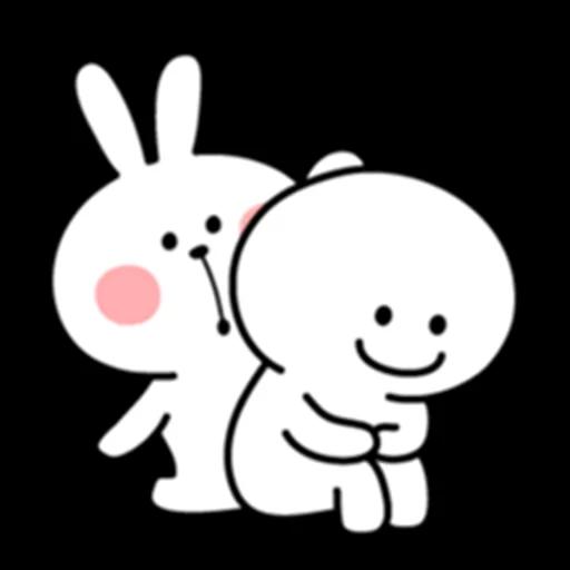 Spoiled Bunny - Sticker 5