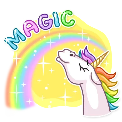 Unicorn - Sticker 3