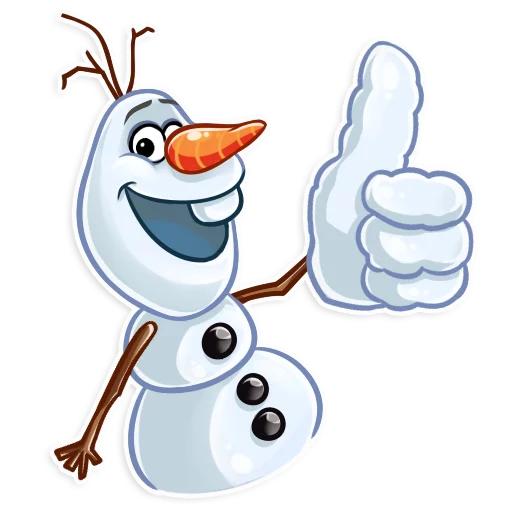 Olaf - Sticker 3