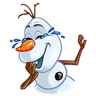 Olaf - Tray Sticker