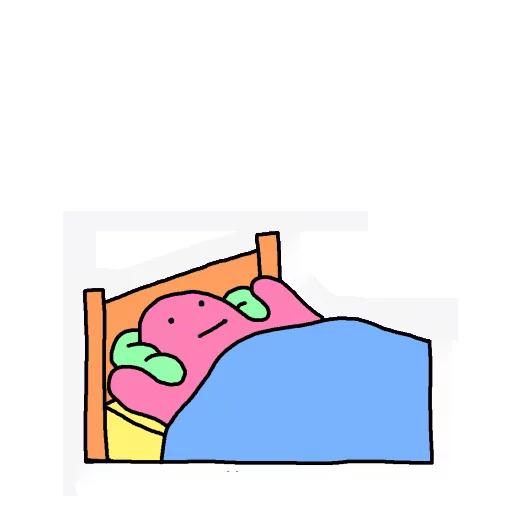 Blobby - Sticker 6