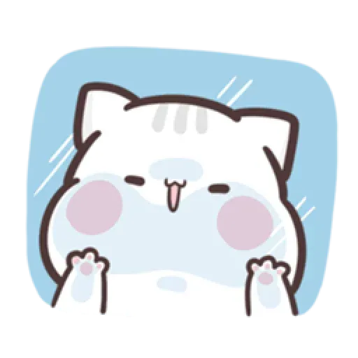 Clingy Kitty - Sticker 12