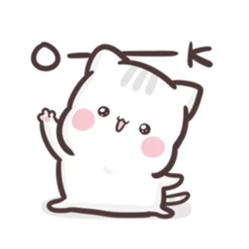 Clingy Kitty - Sticker 7
