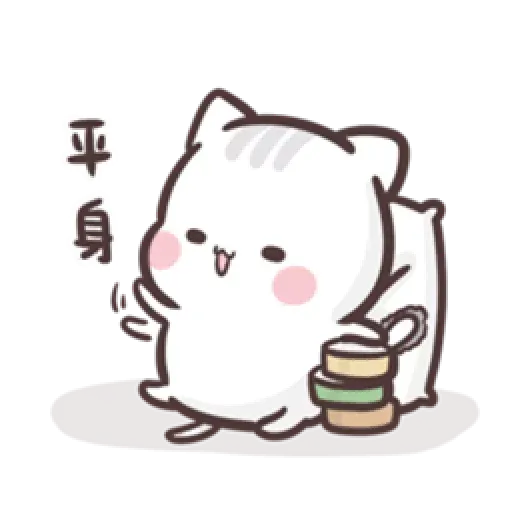 Clingy Kitty - Sticker 3