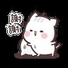 Clingy Kitty - Tray Sticker