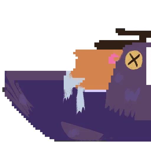 Trash Dove - Sticker 21