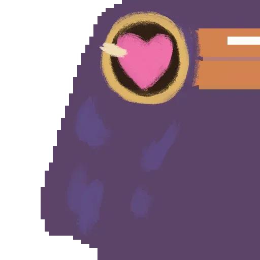 Trash Dove - Sticker 12