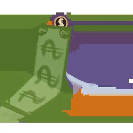 Trash Dove - Tray Sticker
