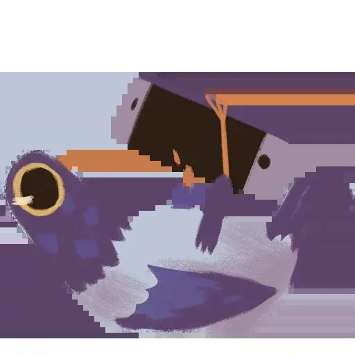 Trash Dove - Sticker 16