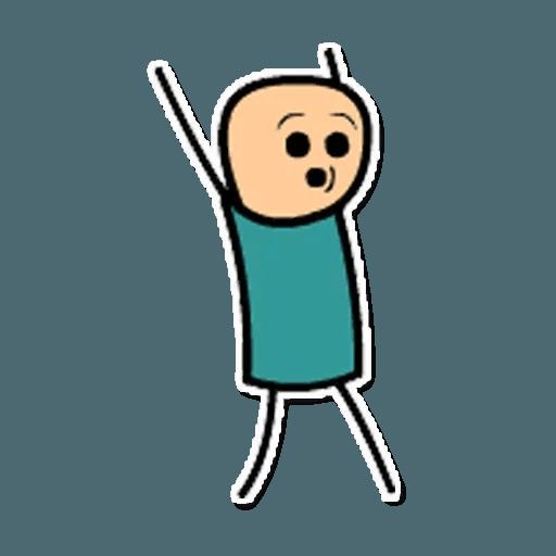 Цианид и счастье - Sticker 23