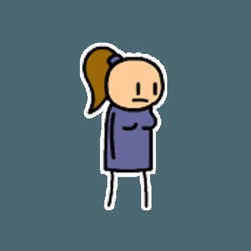 Цианид и счастье - Sticker 15